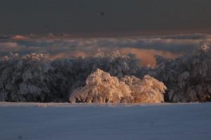 Umbria, Appennino sotto la neve