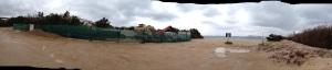 Arzachena, Costa Smeralda, lavori di ampliamento dell'Hotel Romazzino