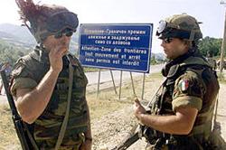 soldati italiani in Kosovo