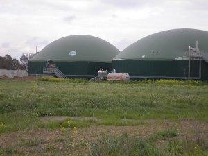 Decimoputzu, cisterna presso la centrale a biomassa