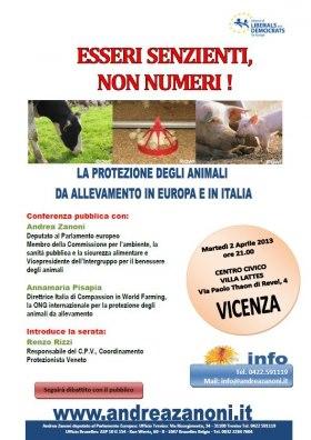 conferenza animalista