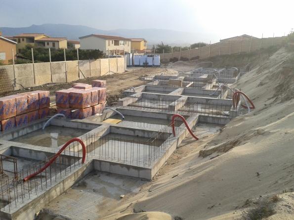 Badesi, cantiere edilizio in area dunale (marzo 2013)