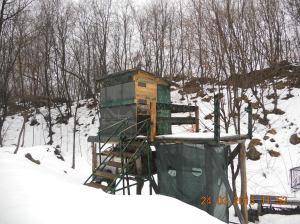 Recoaro Terme, Rovegliana, capanni di caccia