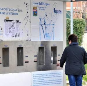 Viterbo, distributore pubblico di acqua