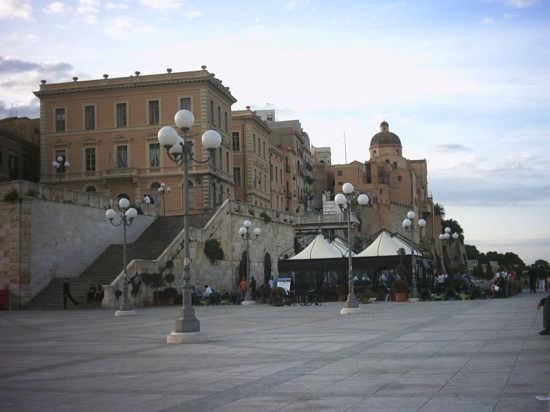 Cagliari, Bastione di S. Remy, terrazza