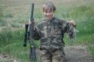 U.S.A., bambino a caccia