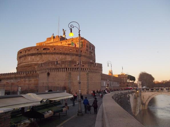 Roma, Castel S. Angelo e il Tevere