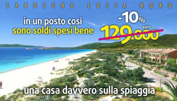 Badesi, dune, pubblicità immobiliare