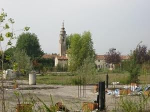 Veggiano, S. Maria, cantiere annandonato