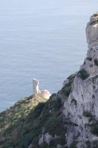 Cagliari, Sella del Diavolo, i ruderi della Torre del Poetto