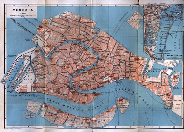 Venezia, cartografia (1913)