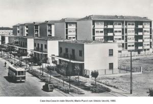 Modena, INA Casa, Viale Storchi (1950)