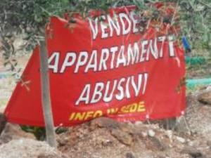 Eboli, pubblicità vendita appartamenti abusivi