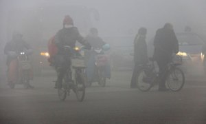 Cina, Pechino, smog