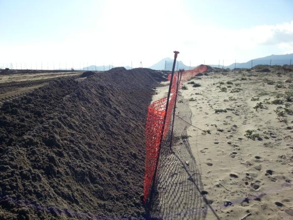Muravera, spiaggia di Colostrai, lavori in corso