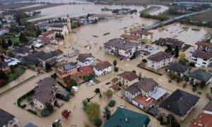 alluvione nella pianura veneta