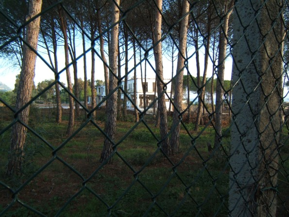 Castiadas, ex Hotel Villa Rey, pineta retrodunale