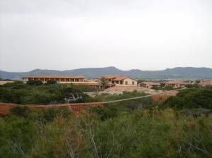 Badesi, cantiere edilizio a ridosso delle dune (febbraio 2014)