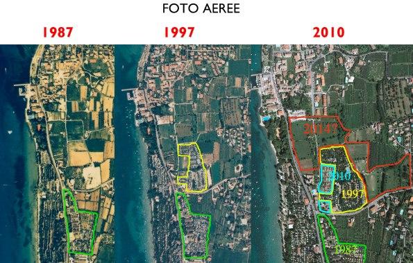 Bardolino, Cisano, progressiva urbanizzazione del territorio