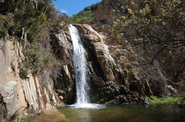 Sette Fratelli, Is Concias, cascata