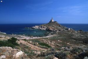 Asinara, Faro Punta Scorno (Sardegna Digital Library)