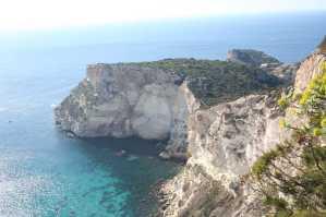 Cagliari, Sella del Diavolo, falesie