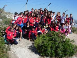 Studenti Convitto Nazionale Vittorio Emanuele II sulla Sella del Diavolo
