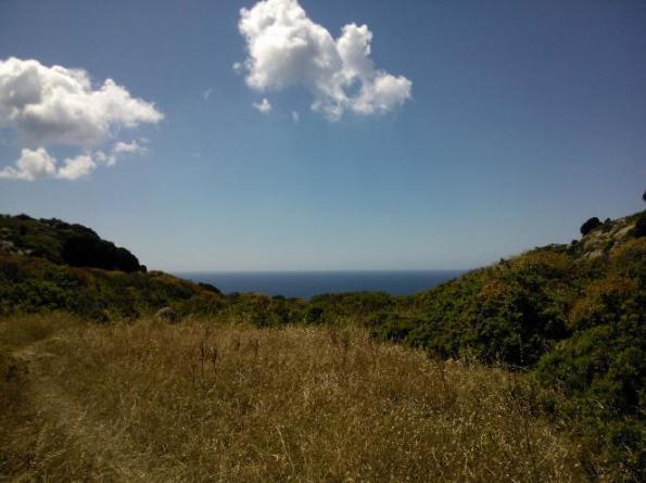 Domus de Maria, Capo Spartivento, mare
