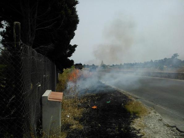 Quartu S. Elena, incendio, 24 giugno 2014