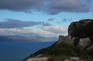 Cagliari, Sella del Diavolo, fra terra, mare, cielo