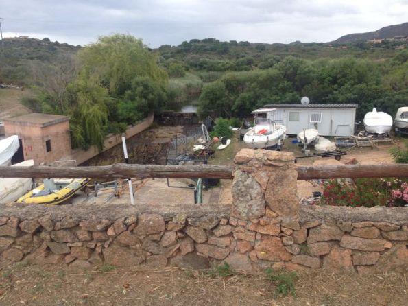 Olbia, Porto Spurlatta, sbarramento del Rio Pinu