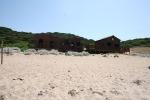 Alghero, Il Porticciolo, chioschi temporanei in area dunale (giugno2014)