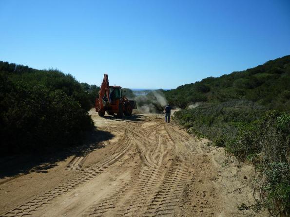 Villasimius, lavori viabilità Capo Carbonara e Cava Usai