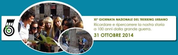 XI Giornata nazionale del Trekking Urbano