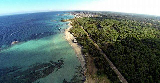 Puglia, litorale interessato dal progetto di gasdotto T.A.P.