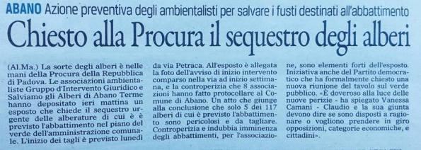 Il Gazzettino, 6 settembre 2014