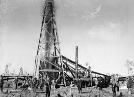 Petrolia, pozzo petrolifero (1886)