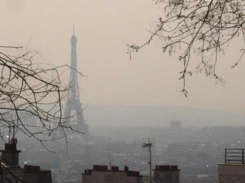 Parigi, smog