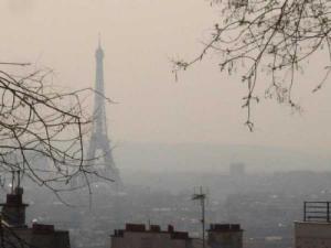 Parigi, smog (da www.meteoweb.eu)