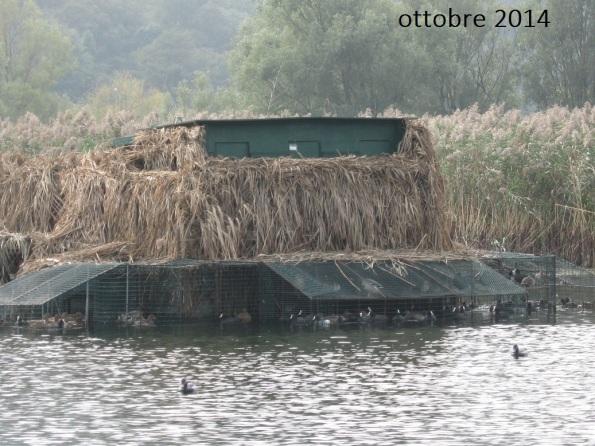 Lago d'Iseo, capanno di caccia