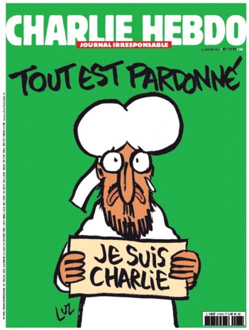 Charlie Hebdo, 14 gennaio 2015