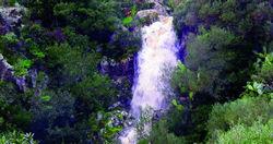 Carloforte, cascata del Canale del Generale
