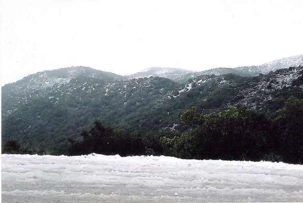Massiccio dei Sette Fratelli, neve
