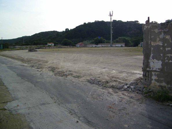 Carloforte, demolizione parziale dello Stadio comunale