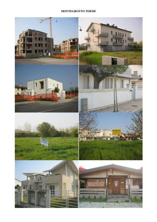 Montegrotto, complessi edilizi invenduti