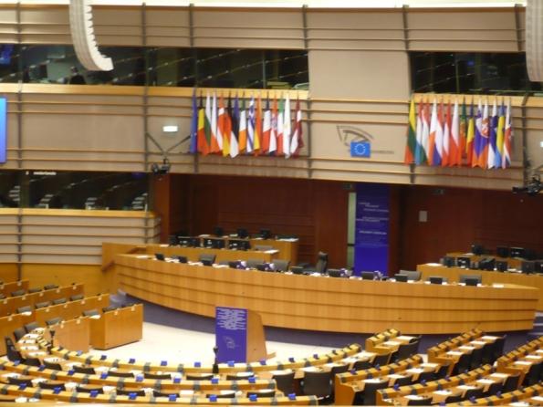 Bruxelles, aula del Parlamento europeo