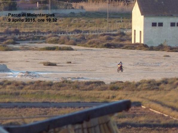 "motocross nel parco naturale regionale ""Molentargius – Saline"" (9 aprile 2015)"