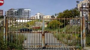 Cagliari, Via Bolzano, area interessata dal progetto immobiliare Tepor s.p.a.
