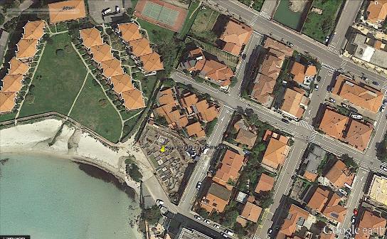 Golfo Aranci, foto aerea (4 luglio 2014) dell'area