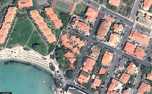 Golfo Aranci, foto aerea (23 agosto 2010) dell'area